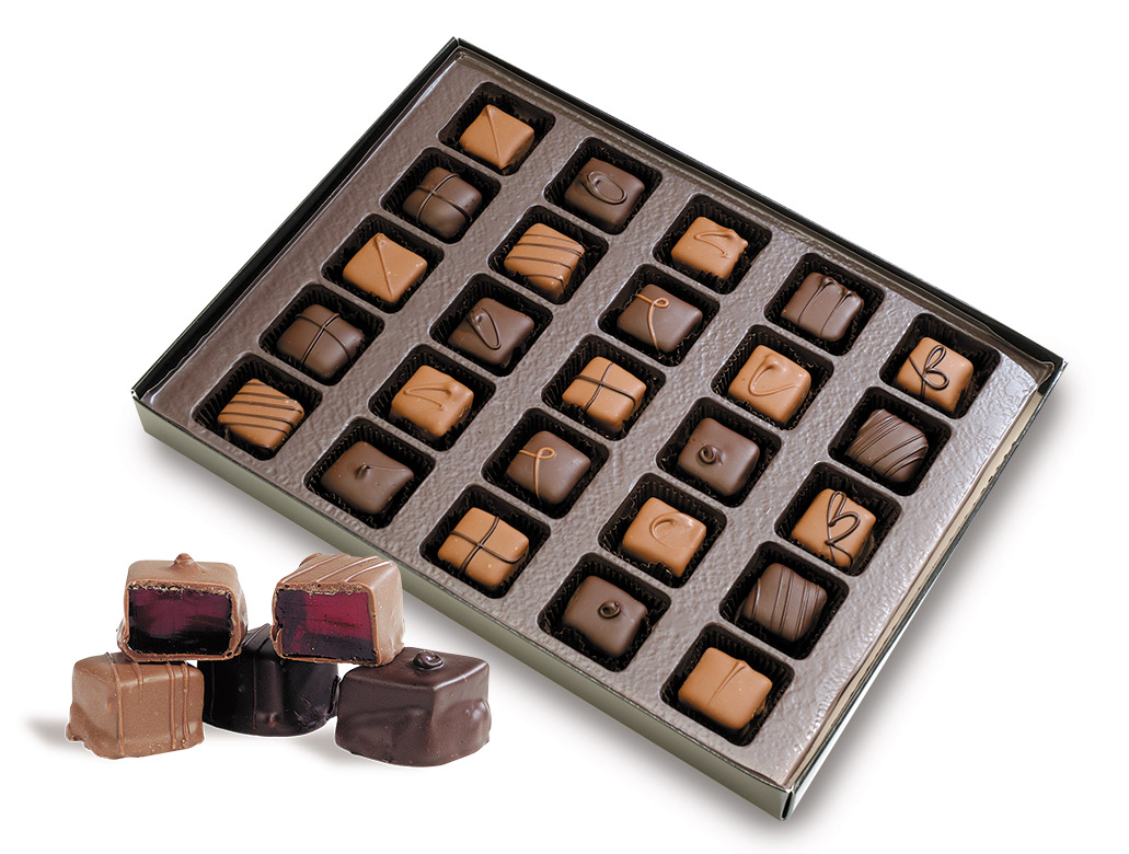Jelly Center Chocolates