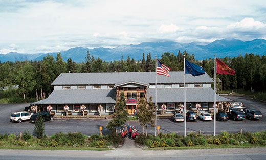 Alaska Wild Berry Products main store in Anchorage, Alaska