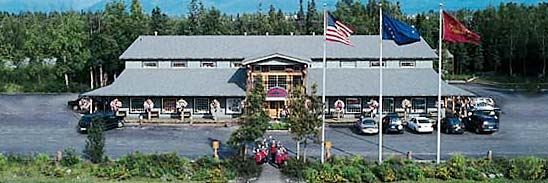The main Anchorage store and Wild Berry Park today